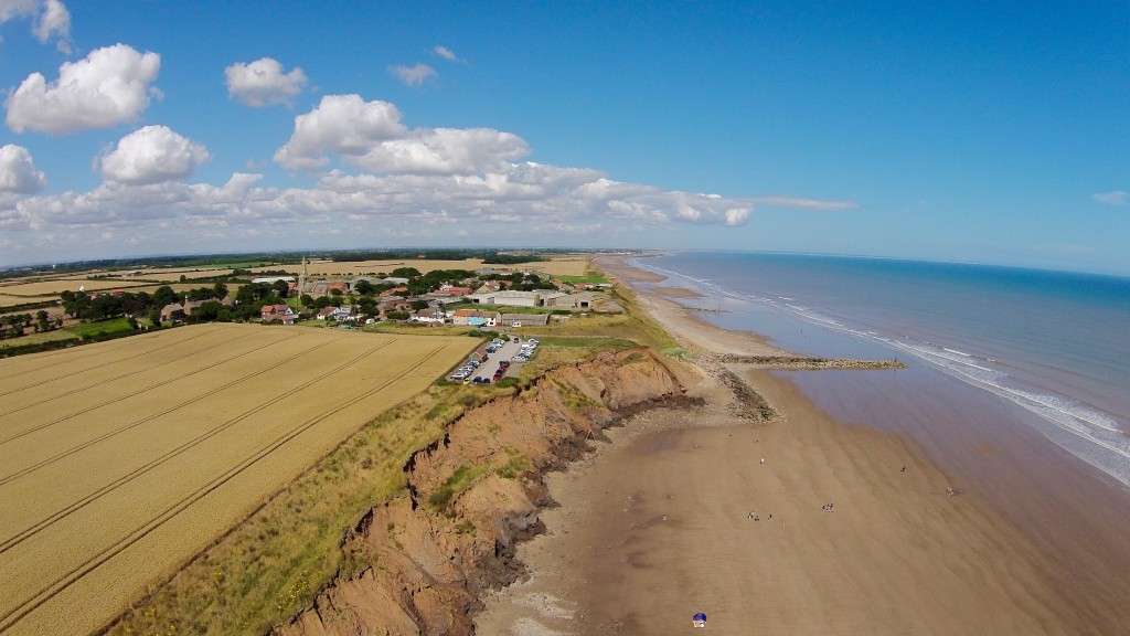 Mappleton and the increased erosion to the south of the sea defences