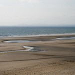 Ridges and runnels on Harlech beach, North Wales