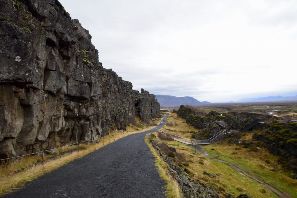 þingvellir, Iceland - where the North American and Eurasian plate separate